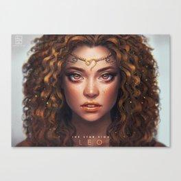 Leo - The Star Sign Canvas Print