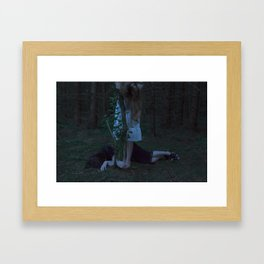 Wake me up. Framed Art Print