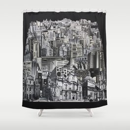 City Of Boom Shower Curtain