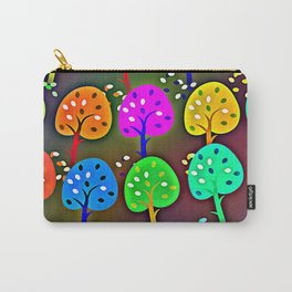 Colourful Forest Carry-All Pouch