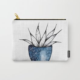 Galaxy Plant | Ink and Watercolor Carry-All Pouch