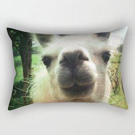 Blanche nose kiss Rectangular Pillow