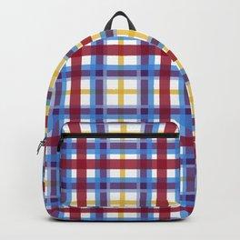Marigold Plaid Backpack