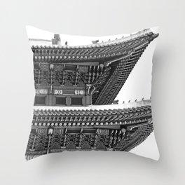 Gyeongbokgung Palace Throw Pillow