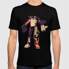famous car monster MEDIUM Black Mens Fitted Tee