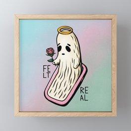 Ghosted (Felt Real Fg.2) Framed Mini Art Print