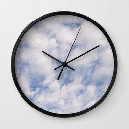 Strato Cumulus Clouds Wall Clock