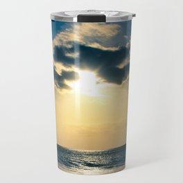 E ala mai o loko i ke kuhohonu o ke Aloha Kamaole Beach Travel Mug