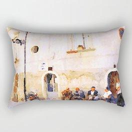 Vulture: old men Rectangular Pillow