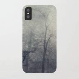 twistEd - foggy forest iPhone Case