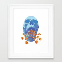 psychology Framed Art Prints featuring Reverse Psychology  by Rhysher Park