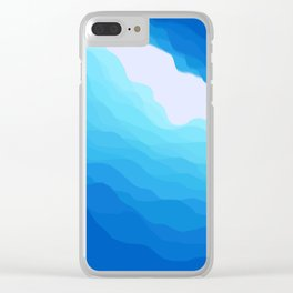 Icy Abyss Clear iPhone Case