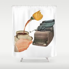 Bibliograph Shower Curtain