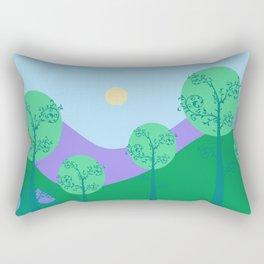 Kawai Landscape Rectangular Pillow