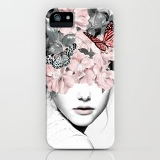 WOMAN WITH FLOWERS 10 iPhone SE Slim Case