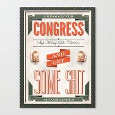 Congress Canvas Print