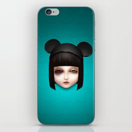 Misfit - Abigail iPhone Skin