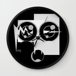 TRiii BLACK SiDE ver. (Original Characters Art by AKIRA) Wall Clock