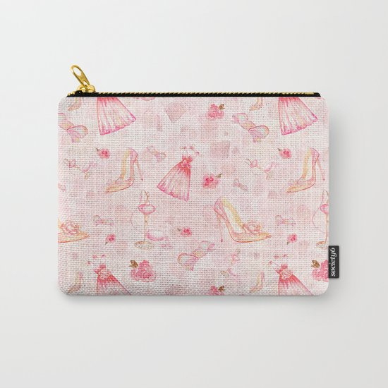 Pink dresses fashion #6 Carry-All Pouch