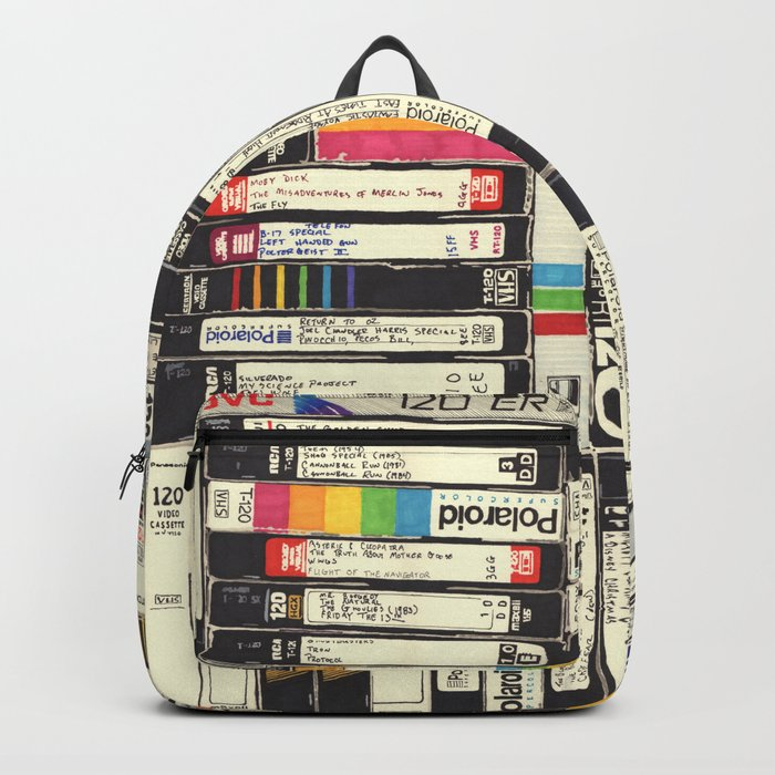 Vhs I Backpack By Hollisbrownthornton Society6