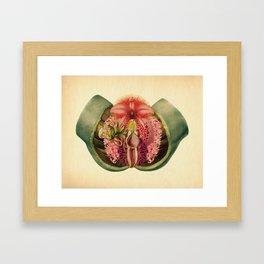 Lady Garden Botanical Framed Art Print