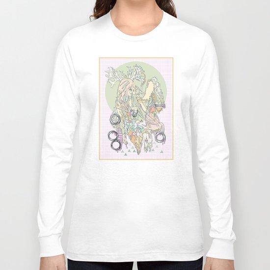 mountbatten pink & bones Long Sleeve T-shirt