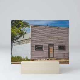 Main Street, Golden Valley, North Dakota 4 Mini Art Print