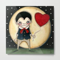 Forever Love - A Vampire Valentine Print Metal Print