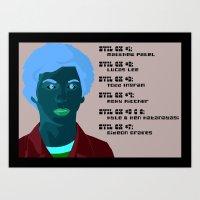 scott pilgrim Art Prints featuring Scott Pilgrim poster.. by illustrationsbysammi