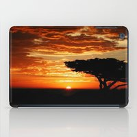 dragon iPad Cases featuring Firey Dragon  by Chris' Landscape Images & Designs