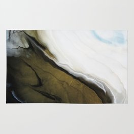 Slice of Heaven - Original Abstract Painting Rug
