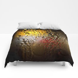 Condensation 74 - FIFA World Cup Trophy Abstract Comforters