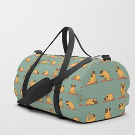 Pug Yoga Duffle Bag