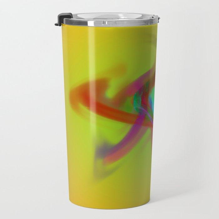 el placa de colore Travel Mug
