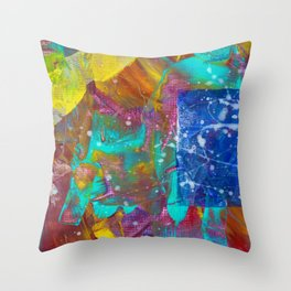 SPACE WORM PART 2 Throw Pillow