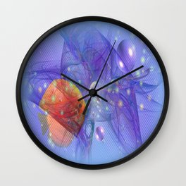 Fish world Wall Clock