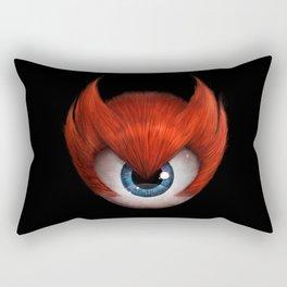 The Eye of Rampage Rectangular Pillow