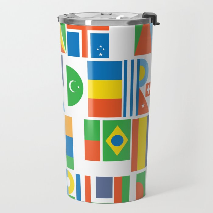 What A Wonderful World II Travel Mug