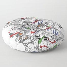 Sneakers Floor Pillow