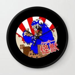 Kookie Kaiju Wall Clock
