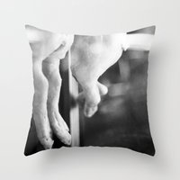 vegan Throw Pillows featuring vegan by Cecilia Cavalieri