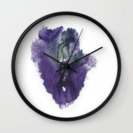 Allie's Vulva Print No.3 Wall Clock