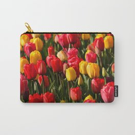 Peace, Love And Tulips Carry-All Pouch