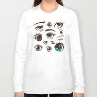 anime Long Sleeve T-shirts featuring Anime by Darish