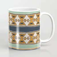 cleveland Mugs featuring Cleveland 2 by Little Brave Heart Shop
