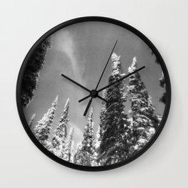 snow-capped . ii Wall Clock