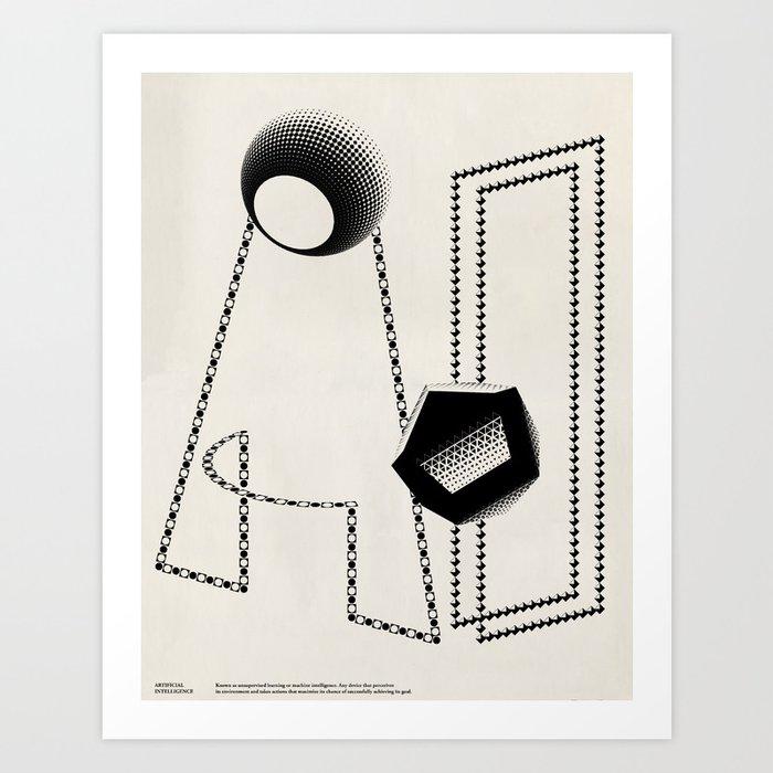 A.I. Art Print