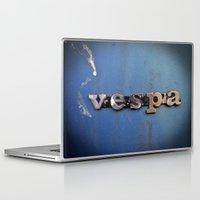 vespa Laptop & iPad Skins featuring vespa by rhythmmess