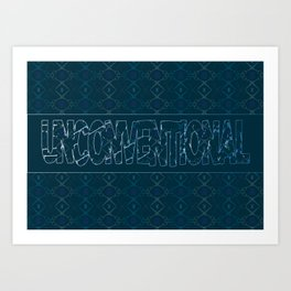 Final Word Art Print
