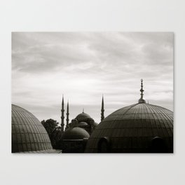 Across the Dome Canvas Print